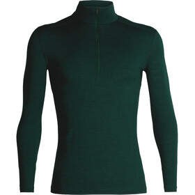 Icebreaker 200 Oasis LS Half Zip Shirt Men Imperial Heather